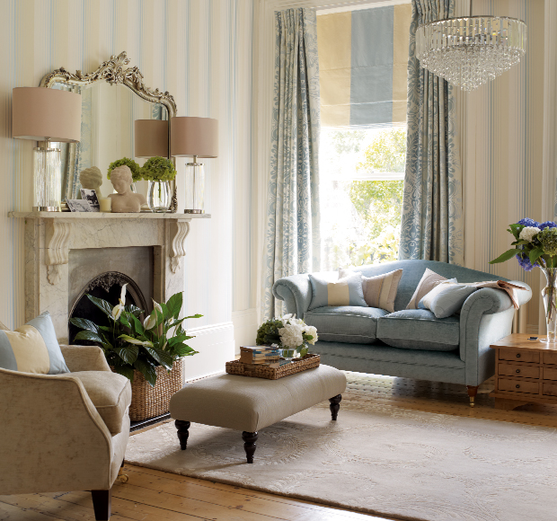 casual country house style laura ashley blog. Black Bedroom Furniture Sets. Home Design Ideas