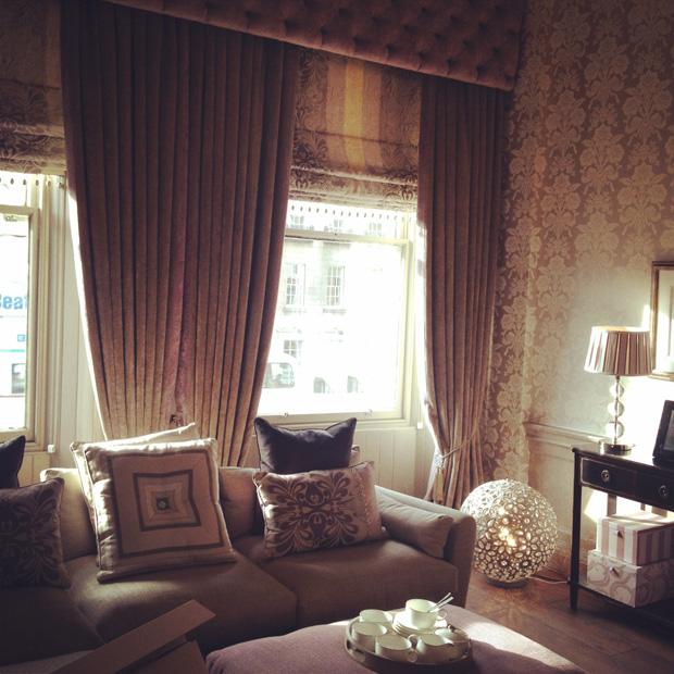 Enchanting edinburgh laura ashley blog for Laura ashley living room ideas