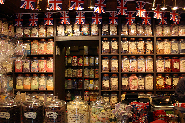 Old Fashioned Sweet Shop South London