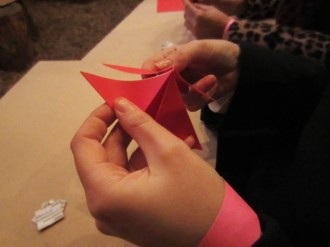 folding paper 620