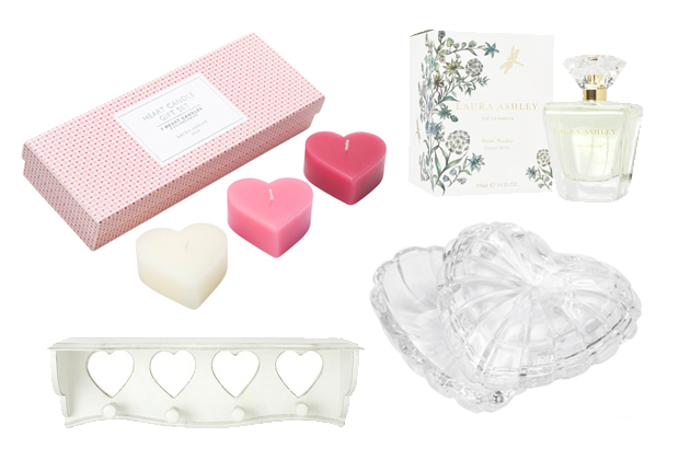 heart shaped items