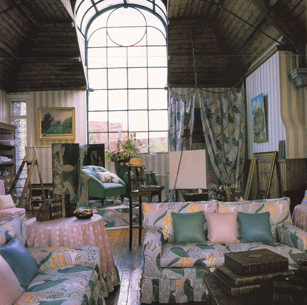 1987 BLOOMSBURY COLLECTION - QUEEN MARY DESIGN ROOMSET 620