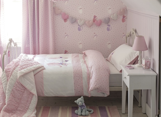 Kitten's Bedset / Kitten's Wallpaper / Kitty Soft Toy