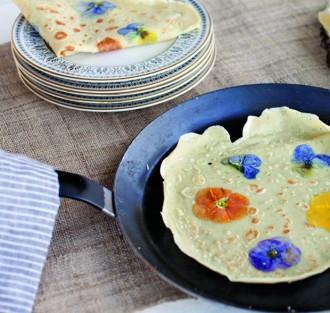 pansy pancakes