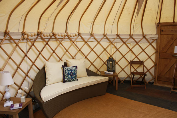 yurt charleston house