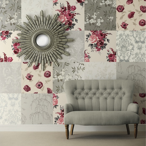 CREATIVE WAYS WITH WALLPAPER