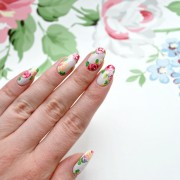 Hero - how to blossom nail art