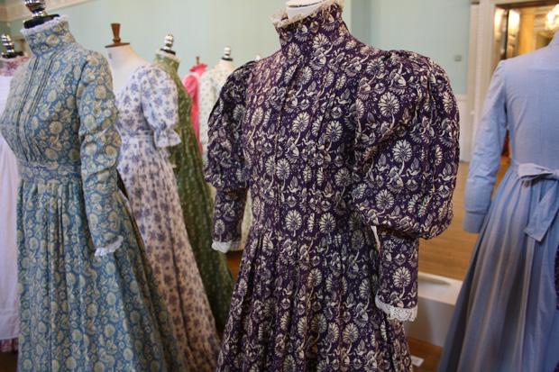 Bath Purple Printed Dress