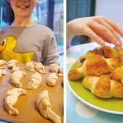 kids croissant recipe hero