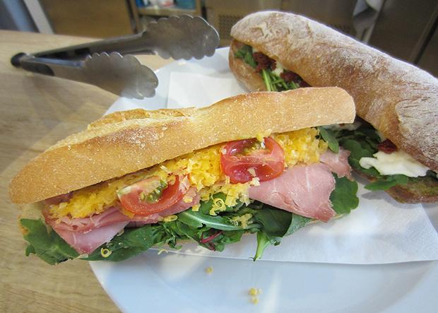 sandwich four corners cafe