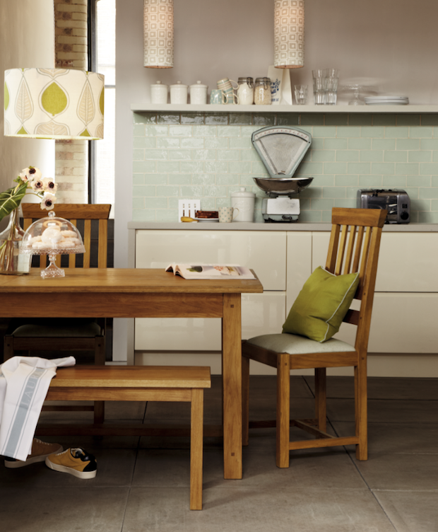 Laura Ashley Kitchen Wallpaper: Bringing The Outside In: The Leaf Collection