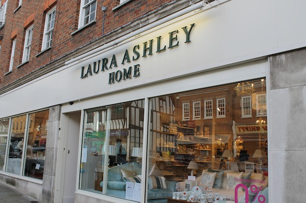 Laura Ashley Reigate store front