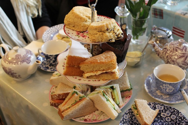 Vintage Tea House, Cream Tea