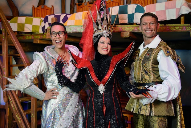 Gok Wan as the Man in the Mirror, Stephanie Beacham as The Wicked Queen, John Partridge as The Prince 2