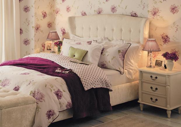Part 2 tips from the expert interior designer georgina for Bedroom ideas laura ashley