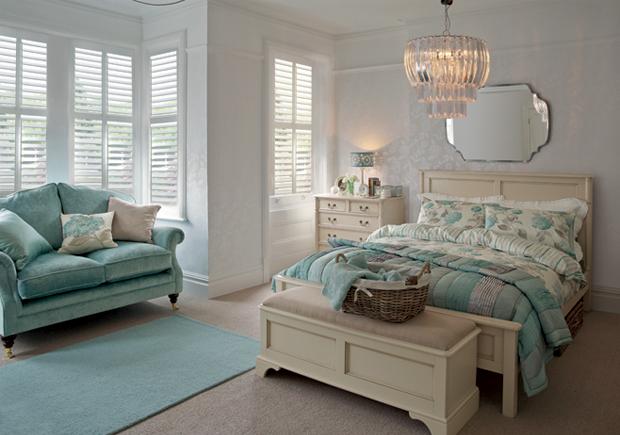 Bay window shutters - Win A Room Makeover Competition The Laura Ashley Blog