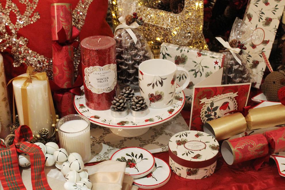 - Laura Ashley Handmade Christmas Bloggers Event :: Homemade London
