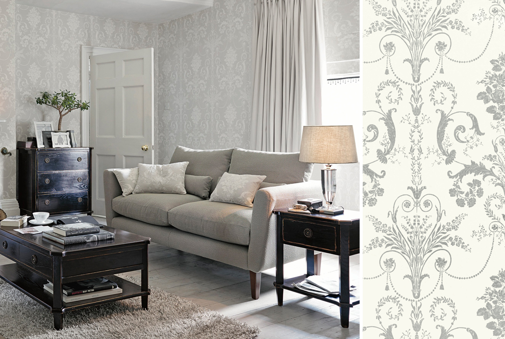 Laura Ashley Living Room Grey