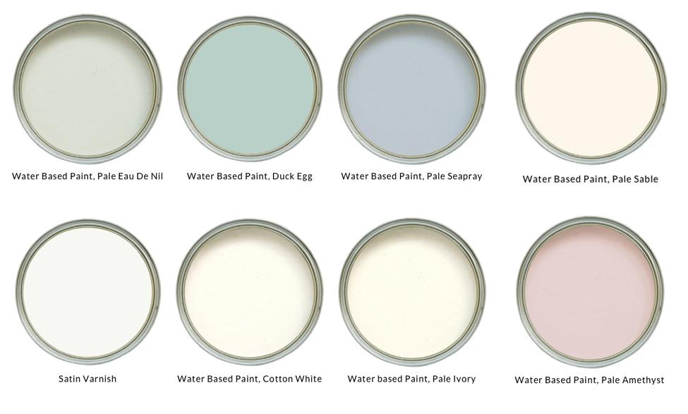 Laura Ashley Furniture Paint Colours