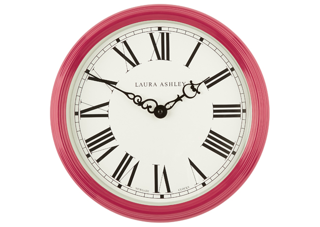 Cranberry Wall Clock