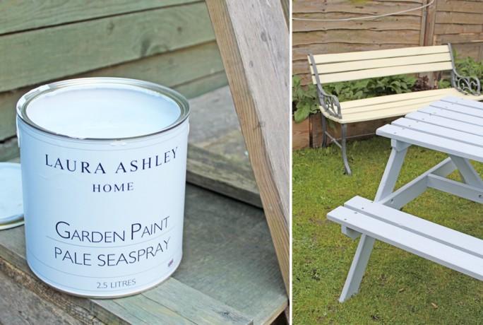 Laura Ashley Garden Furniture Paint