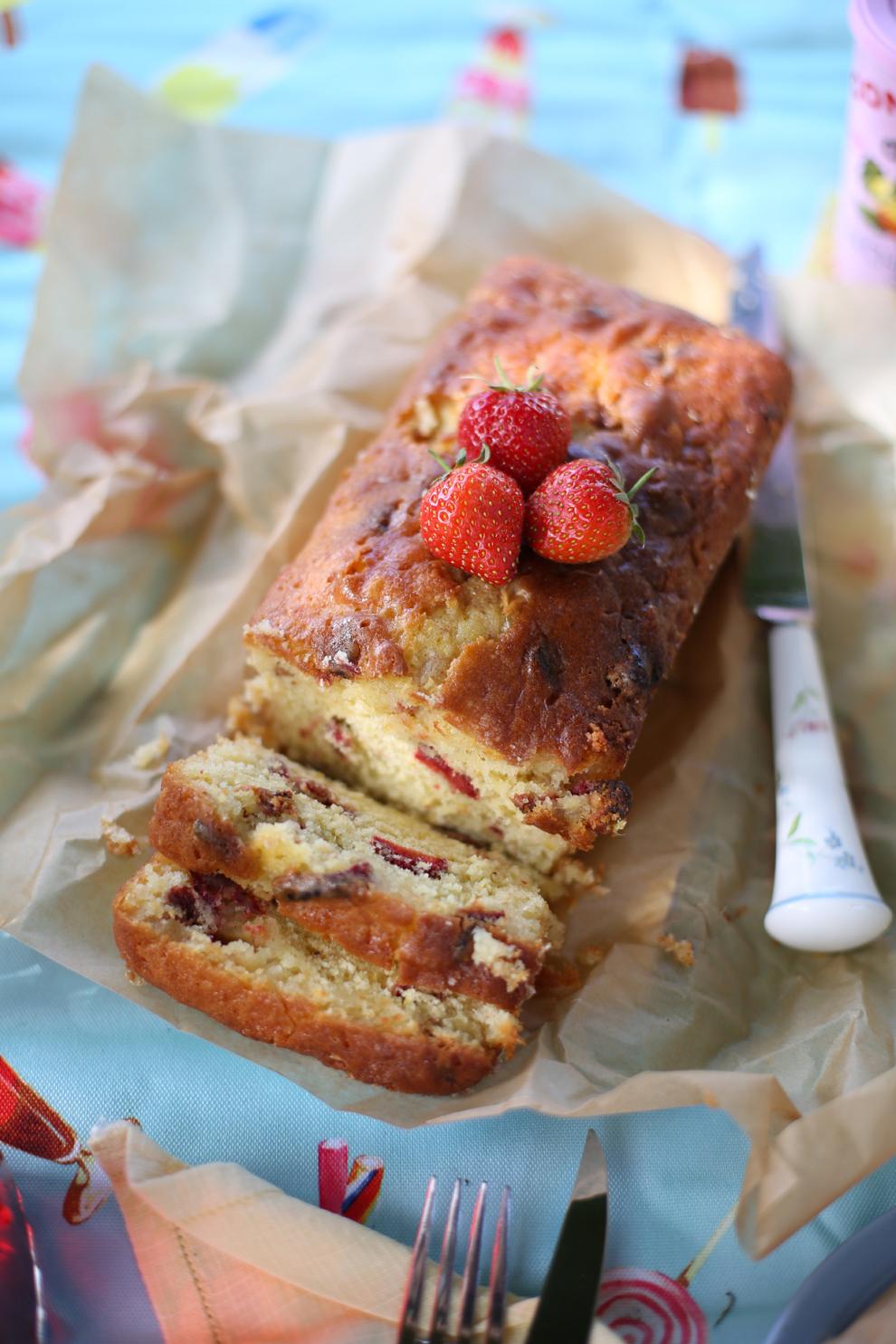 Strawberry-Lemon-Loaf