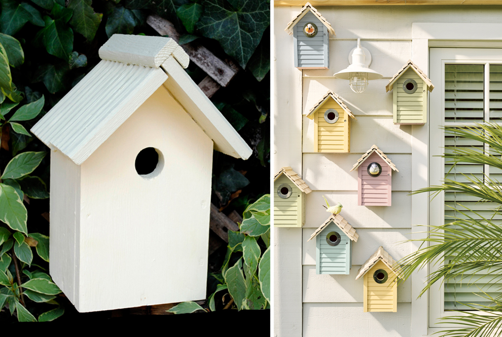 Fairy Tale Pretty Picture Upcycling Birdhouses Paint