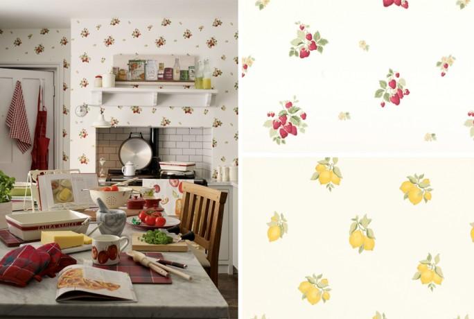 Strawberry & Lemon Grove Archive Print