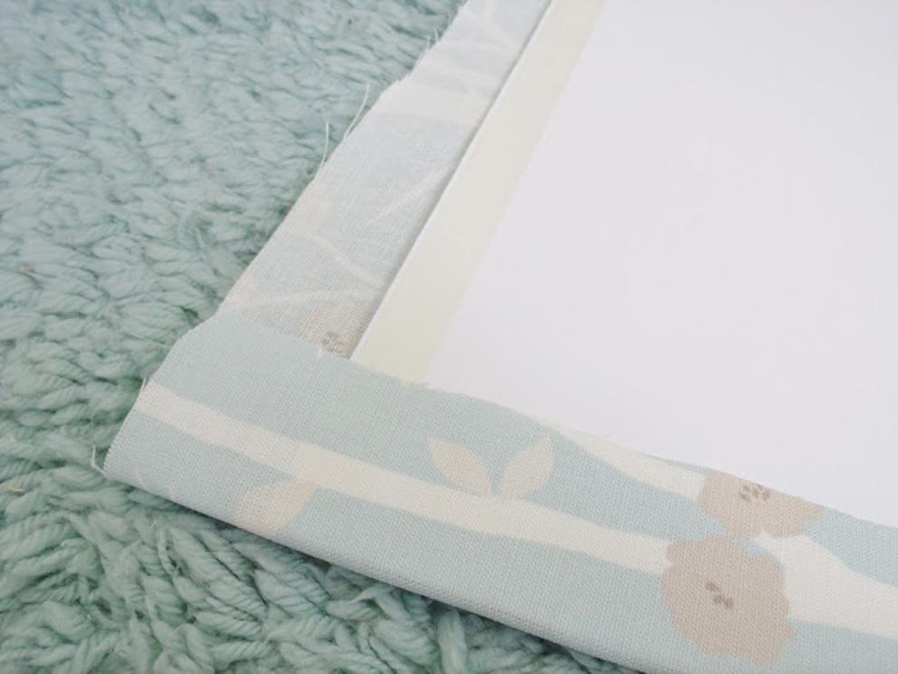 DIY Fabric Wall Panels