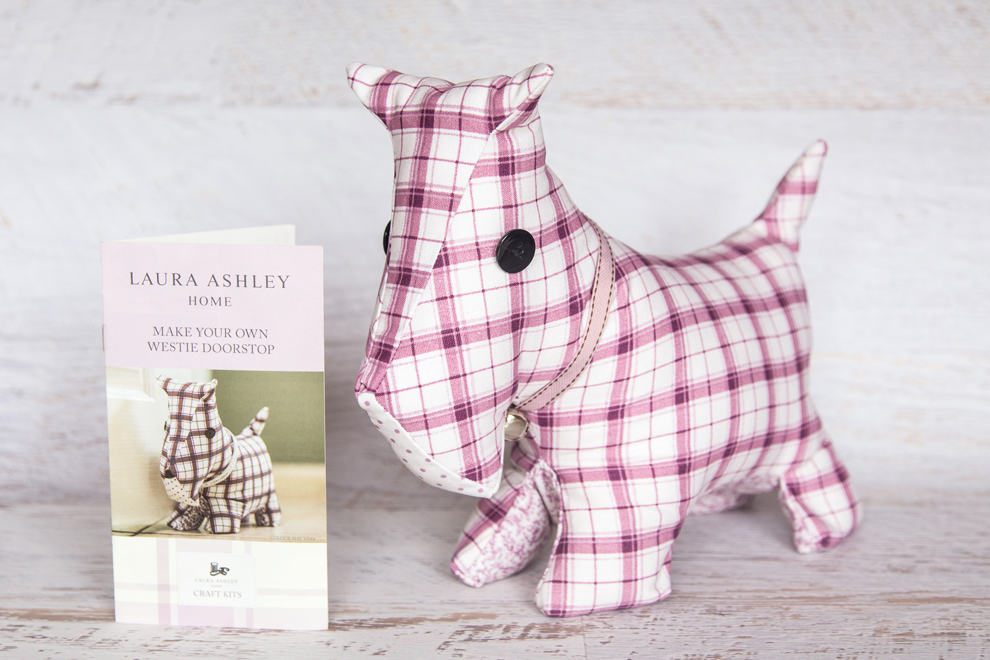 Laura Ashley Make Your Own Dog Doorstop