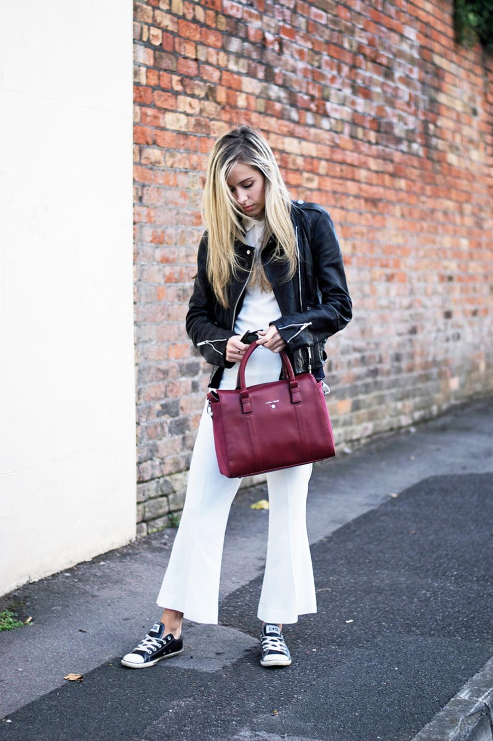 Laura Ashley bags with Daniella
