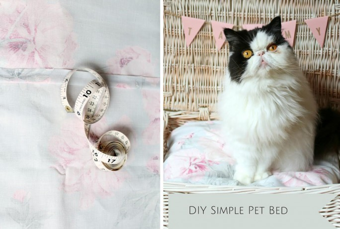 Laura Ashley DIY pet bed