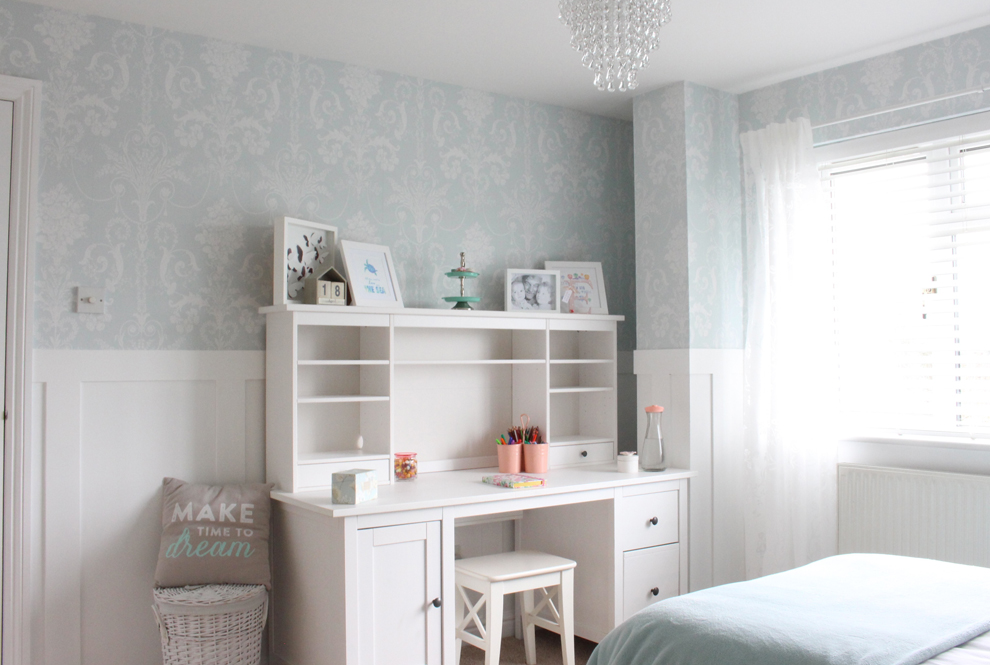 At Home Daughter S Bedroom Makeover With Sue Laura Ashley Blog