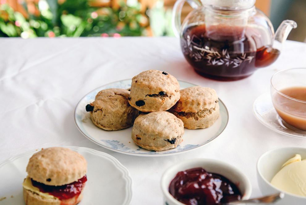 Wallflower Kitchen Fruit Tea Scones Recipe Pinafore