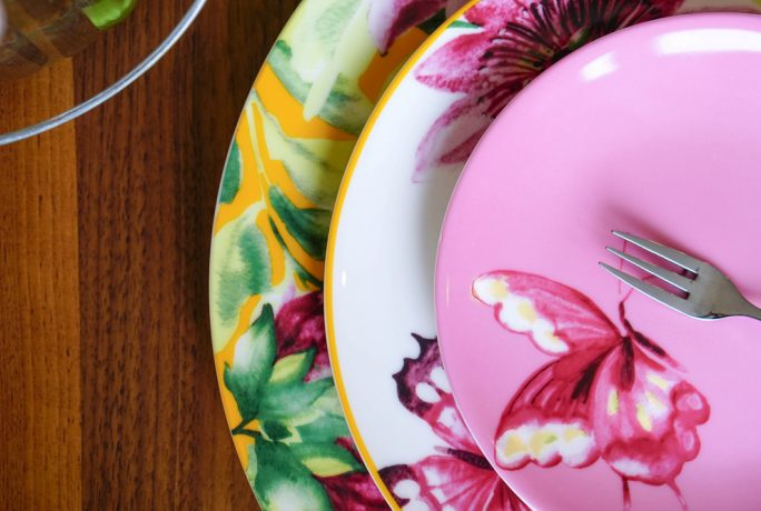 The Ordinary Lovely Floral Heritage Home Accessories Afternoon Tea