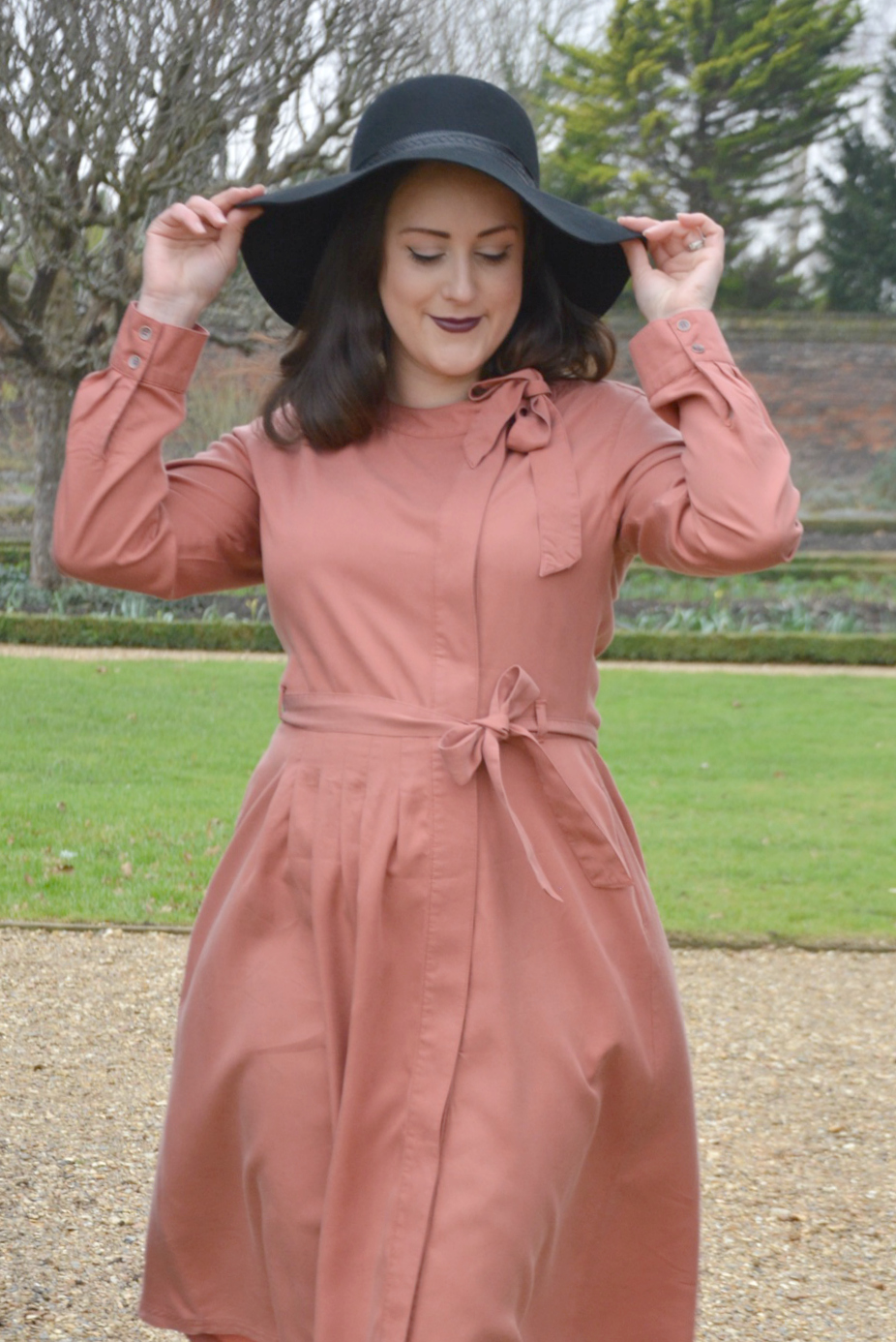 Pink Laura Ashley Dress 5