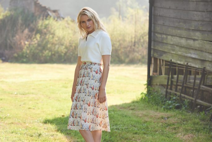 Laura Ashley Coastal Drive Top Skirt