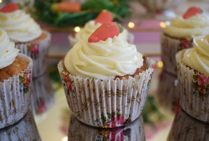 The Vintage Room Easter Baking Recipe Apple Carrot Cupcakes