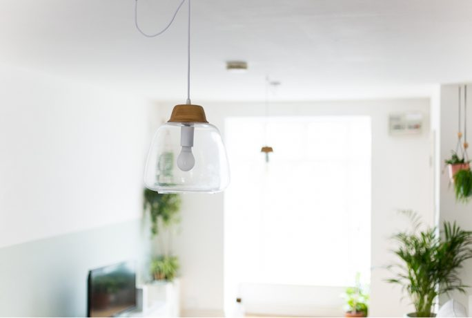 Fall For DIY Pendant Light