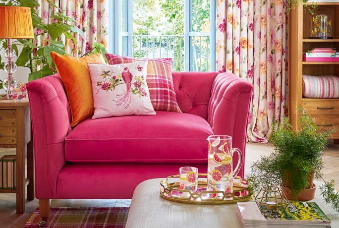 Laura Ashley Sofa Upholstery