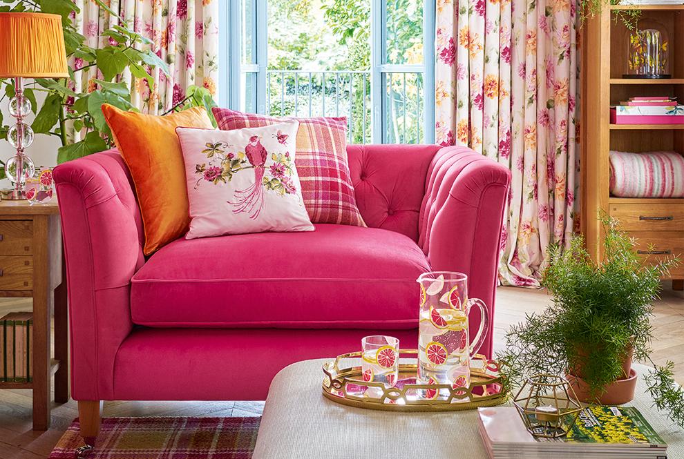 Laura Ashley Sofa Upholstery