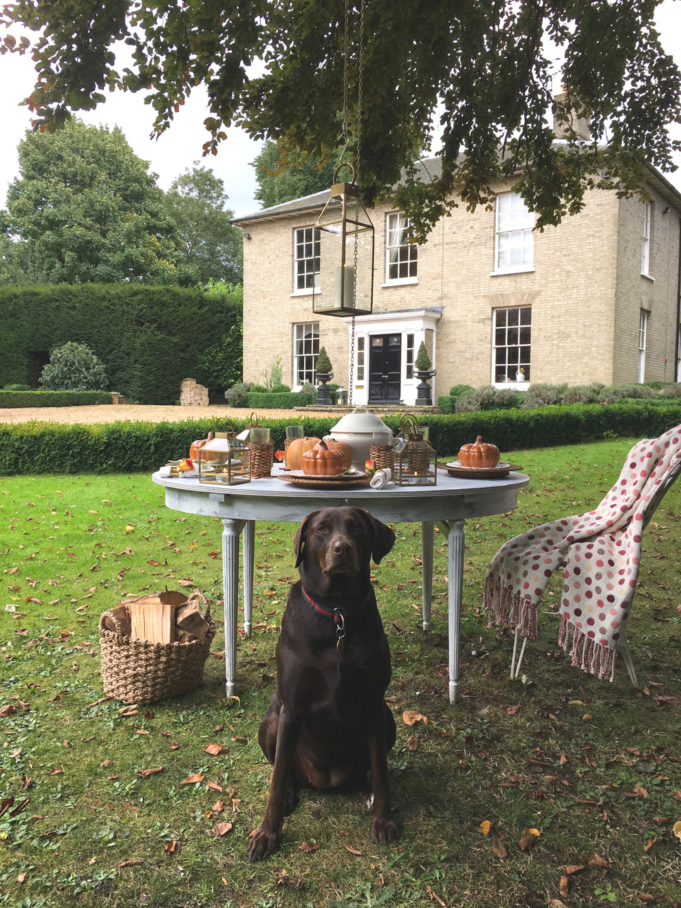 Hillhouse Diaries Autumn Accessories Outdoor Dining