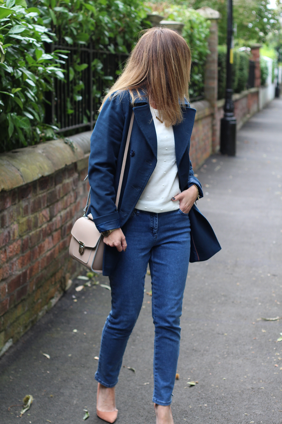 Mummy Of Boy Girl Twins Jacket Jeans Jumper Dinner Date