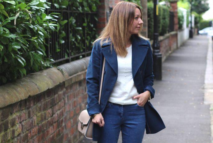 Mummy Of Boy Girl Twins Jacket Jeans Jumper Dinner Date