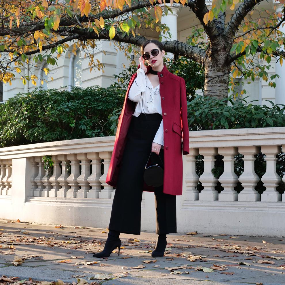Arabella Golby Red Coat