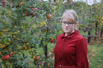 Everything Looks Rosie Corduroy Dress Autumn