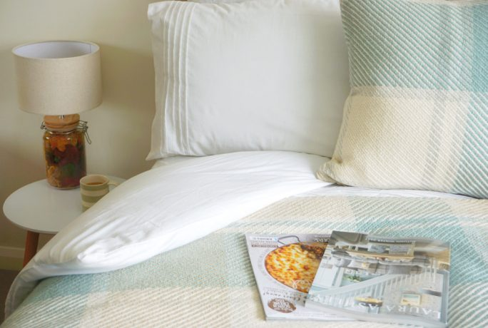 Meet The Taylors Duck Egg Damask Home Accessories Spare Bedroom