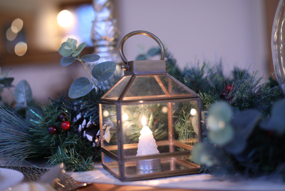Our Growing Story - Christmas Table