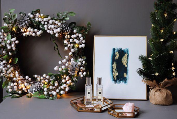 Brick Dust Glitter Christmas Bedroom Accessories