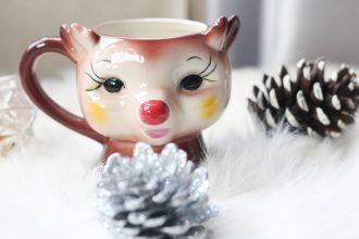 Sparkles & Stretchmarks Reindeer Mug